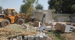 تخریب ۱۷ مورد ساخت و ساز غیر مجاز در بخش قلعه نو
