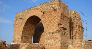 تپه میل آتشکده ری آتشکده ساسانیان در بخش قلعه نو